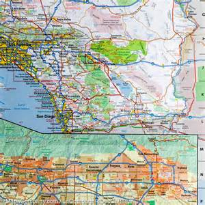 maps southern california southern california images