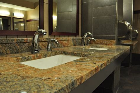 granite countertops modern bathroom worktops