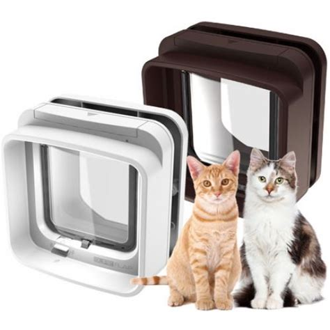 Pet Doors For Cats by Electronic Microchip Cat Flaps And Doors