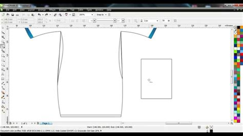 Design T Shirt Corel Draw | design t shirt basic corel draw youtube