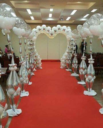 decoracion de iglesia para boda con globos bellas opciones en decoraci 243 n con globos para boda