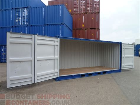 Container Office Portac 40 Ft 6 20ft side opening shipping containers new one trip