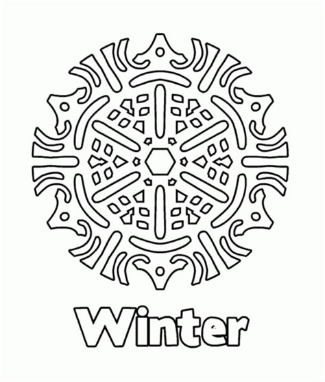 snowflake coloring pages pdf download winter snowflake coloring pages or print winter
