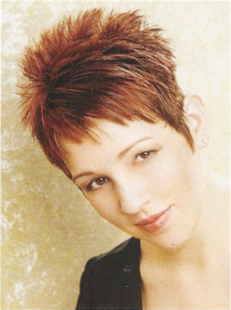 spiked hairstyles for older women short spiky haircuts