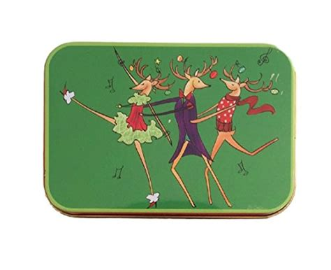 Christmas Gift Card Tins - christmas gift card holders tin box christmas brights and trees 4 pack arts