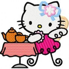 hello kitty tea party coloring pages hello kitty coloring pages fun with the kids pinterest
