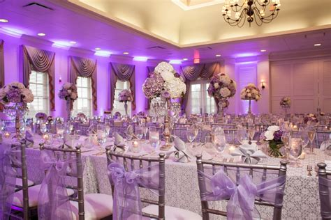 Radiant Orchid Home Decor wedding table and chair decorations