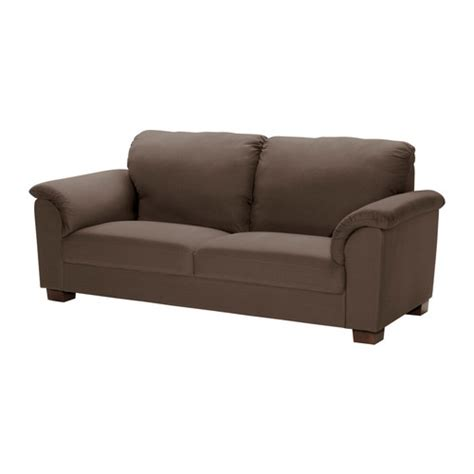 brown sofa tidafors sofa dansbo medium brown ikea