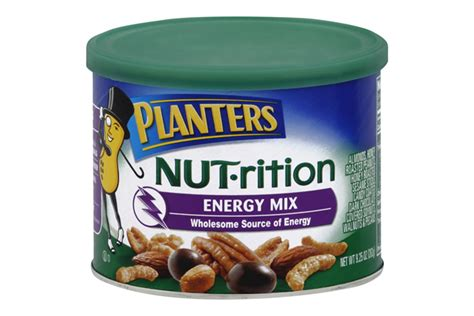 Planters Energy Mix by Planters 174 Nut Rition Energy Mix 9 25 Oz Kraft Recipes