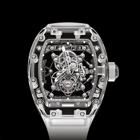 Richard Mille Rm56 01 Sapphire richard mille tourbillon rm 56 02 sapphire time and