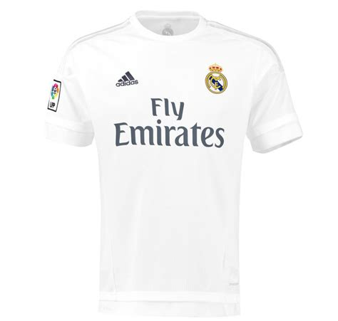 T Shirt Real Madrid adidas childrens real madrid football home shirt jersey t