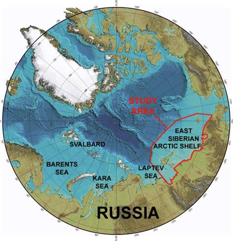 Arctic Continental Shelf by Siberian Shelf