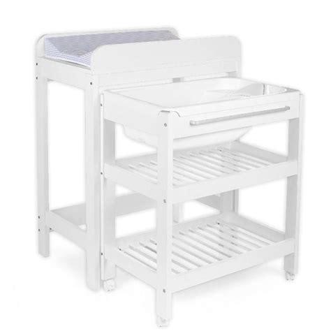 meuble a langer baignoire table 224 langer baignoire et place pour tummy tub achat