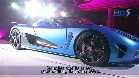 koenigsegg singapore koenigsegg agera s sold for s 5 3 million 14jun2013