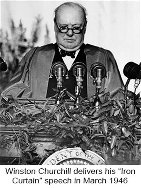 winston churchill delivers iron curtain speech eugene marlow past ironies that resonate in the present day