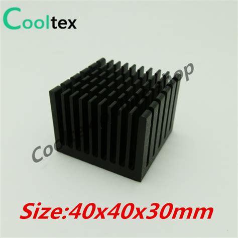 Heat Sink Electronics by Aliexpress Com Buy 5pcs Lot 40x40x30mm Aluminum Heatsink