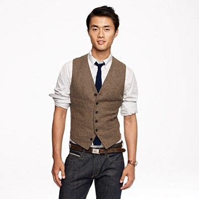 Style Ideas How To Wear Menswear Herringbone Second City Style Fashion by How To Wear A Vest With And A Casual Shirt My
