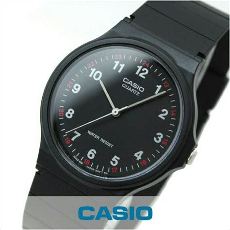 Casio Mq 24 1 Original jam tangan casio mq 24 1b mq 24 1b analog original