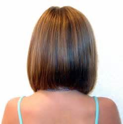 back view of mid length hair bob shoulder length bob hair pinterest