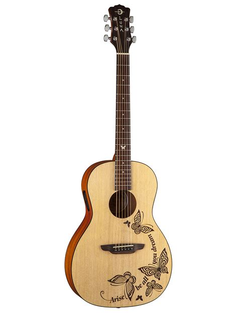 selecting a mandolin wood selection luna 6 string gypsy series select dream wood acoustic