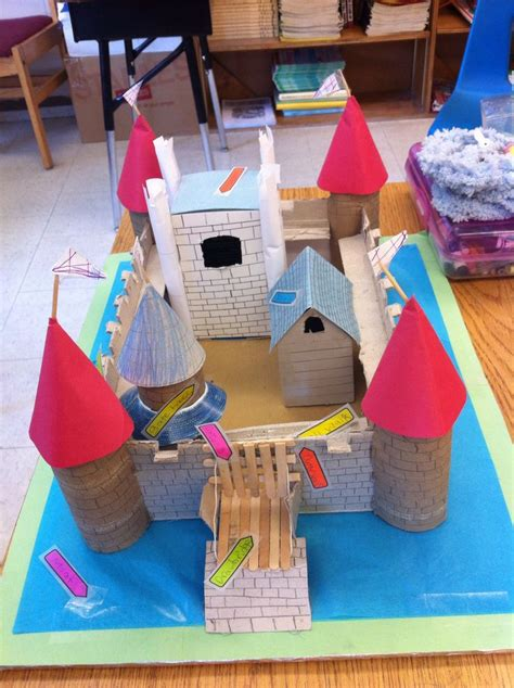 middle school craft projects 20 best images about castle project ideas on