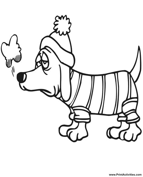 snow coloring pages dog and kid in winter grig3 org index of coloringpages winter
