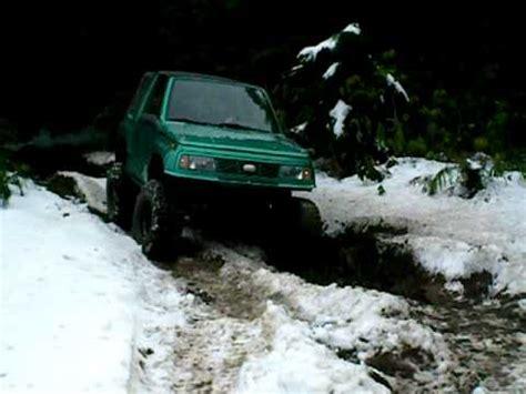geo tracker sas wheeling in the snow 2 youtube