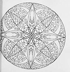 libro inky mandalas themed mandalas amazon com inky mandalas themed mandalas for relaxation inky colouring books volume 3