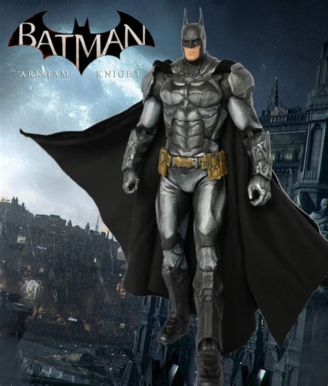 Batman Arkham Custom Repaint batman arkham custom figure by somethinggerman on deviantart