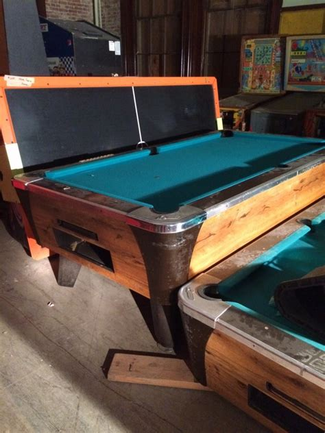 Used Coin Operated Pool Tables For Sale by Used Coin Operated Pool Tables Can Be Put On Quot Free Play
