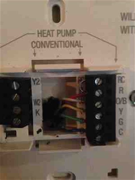 Honeywell Thermostat 2460 by Replacing A Thermostat With A New Wi Fi Programmable One