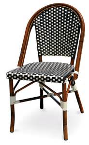 Woven Bistro Chairs Cafe Bistro Rattan Chairs Parisian Chairs