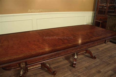 mahogany dining room table mahogany and walnut dining room table with self storing leaves