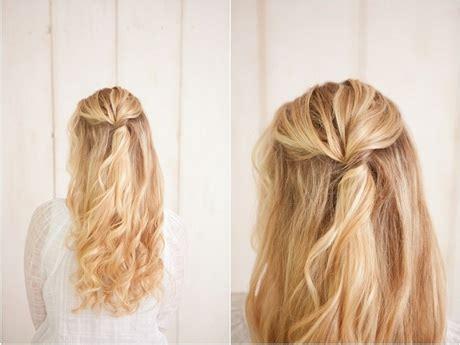 Trendige Frisuren Zum Selbermachen by Einfache Frisuren Zum Selbermachen F 252 R Lange Haare