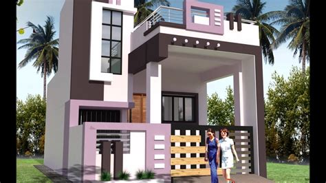 house front elevation design for double floor theydesign latest front elevation small house new in great home