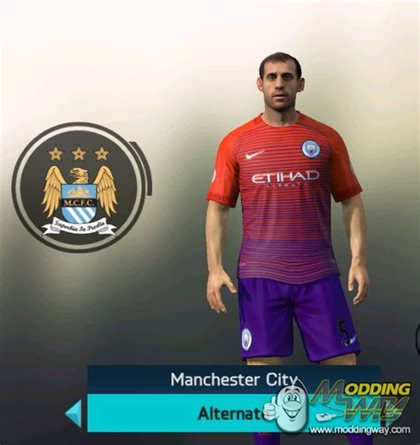 official manchester city 2016 manchester city official hd kit pack 2016 17 fifa 14