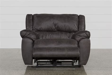 oversized cuddler recliner shadow cuddler power recliner living spaces