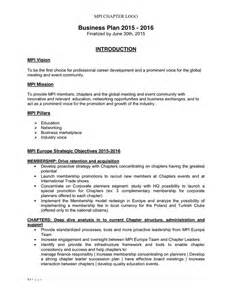 E Business Plan Template Business Plan Template In Word And Pdf Formats