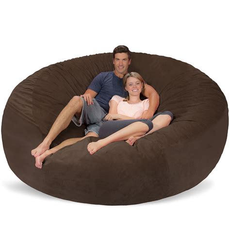 bean armchair 8 ft giant bean bag chair