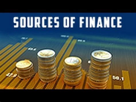 Explain The Different Sources Of Mba by Sources Of Finance For A Business