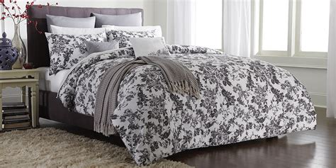 cannon bedding cannon comforter set gray floral shop your way online