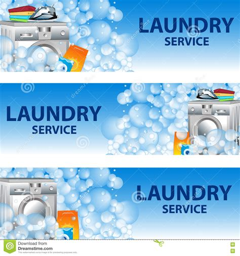 laundry design poster poster design for cleaning service vector illustration