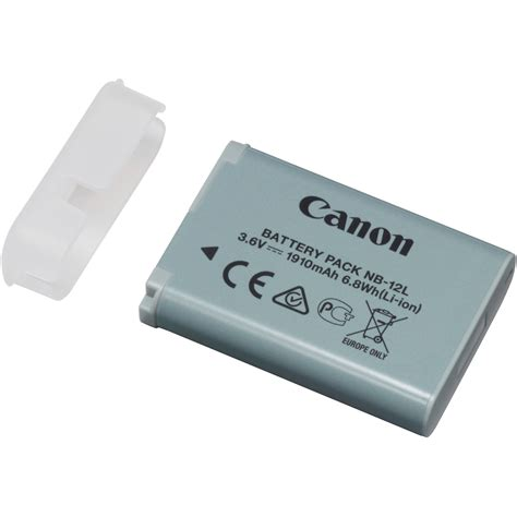 battery pack for l canon nb 12l lithium ion battery pack 3 6v 1910mah 9426b001