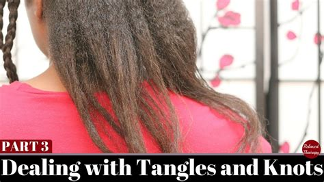 How To Detangle Matted Hair Without Cutting by Color Gurl
