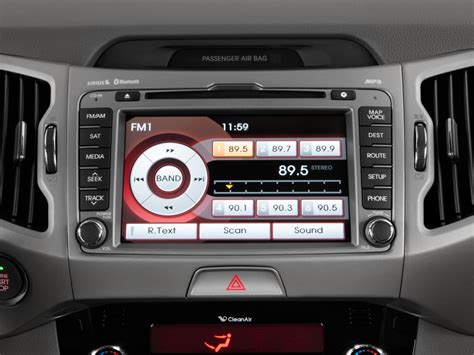 Kia Sound System Image 2011 Kia Sportage 2wd 4 Door Ex Audio System Size