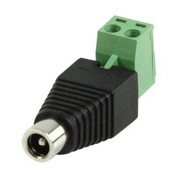 Konektor Dc Cewe Cctv konektor nap 225 jec 237 se svorkovnic 237 z 225 suvka g 55 kameryshop cz