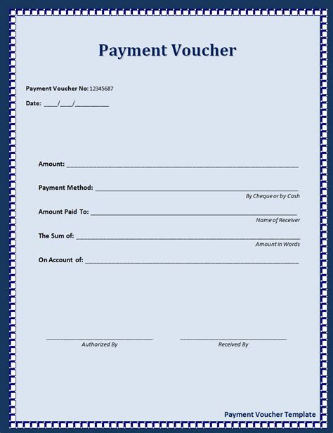 Monthly Payment Coupon Templates Gallery Voucher Templates Word