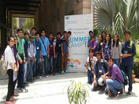 Summer Internship For Mba Students In Delhi by Summer Internship At Iiit Delhi For Class 11 Computer
