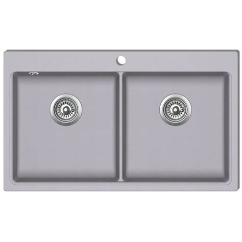 doppio lavello cucina articoli per lavandino cucina granito grigio lavello