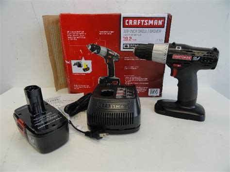 craftsman drill battery charger not working craftsman 19 2 volt c3 3 8 quot cordless drill driver charger